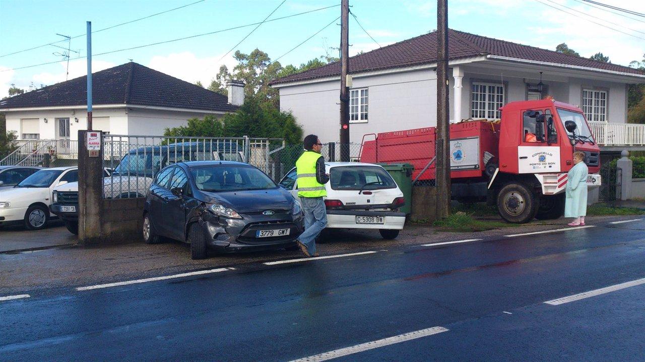 Accidente de tráfico en Ribeira (A Coruña)