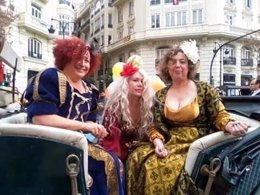 Las tres 'reinas magas'