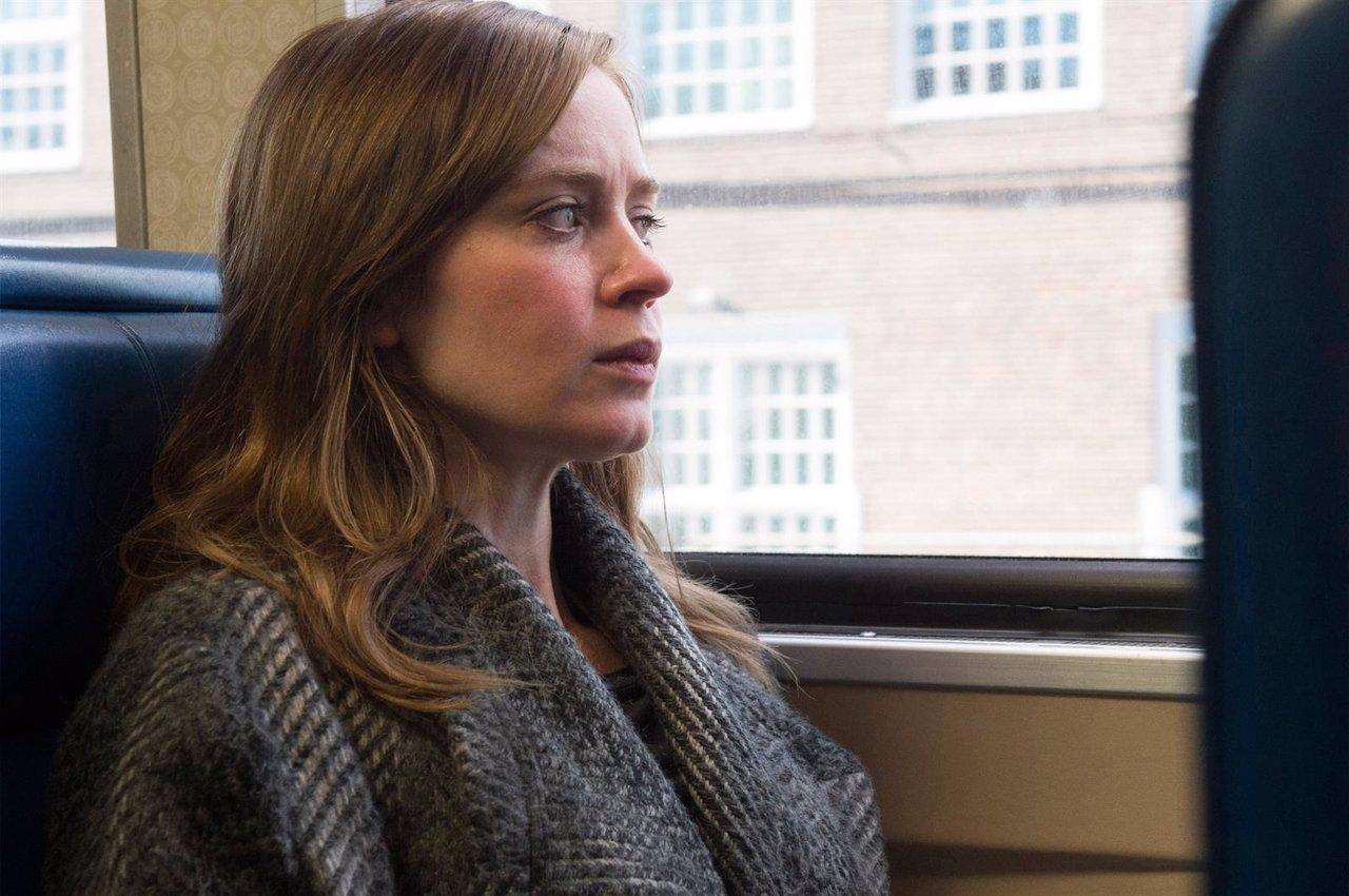 Emily Blunt en La chica del tren