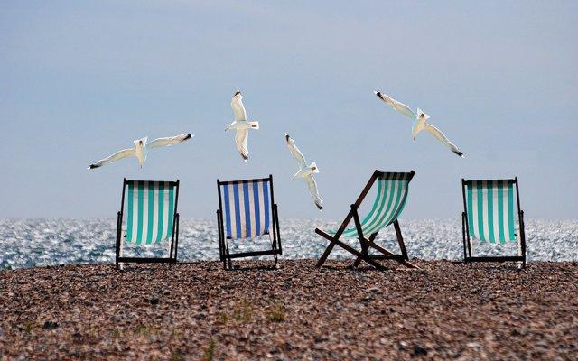 Verano, sol, calor, playa, arena,