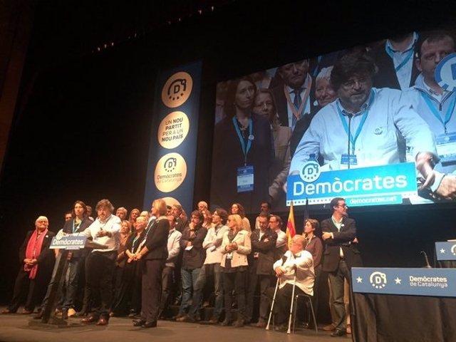 Congreso fundacional de Demòcrates de Catalunya