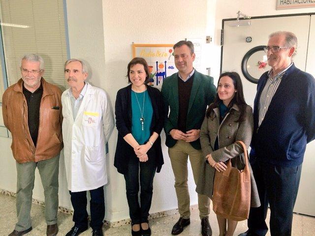 FOTOS / Visita Al Hospital Virgen Del Castillo De Yecla