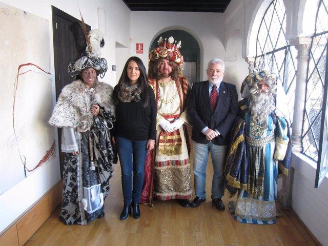 Presentación de la Cabalgata de Reyes Magos con Carmen González