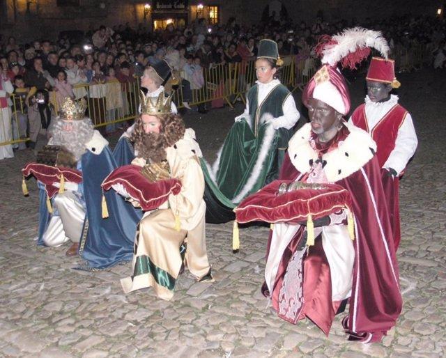 Reyes Magos de la Cabalgata de Santillana