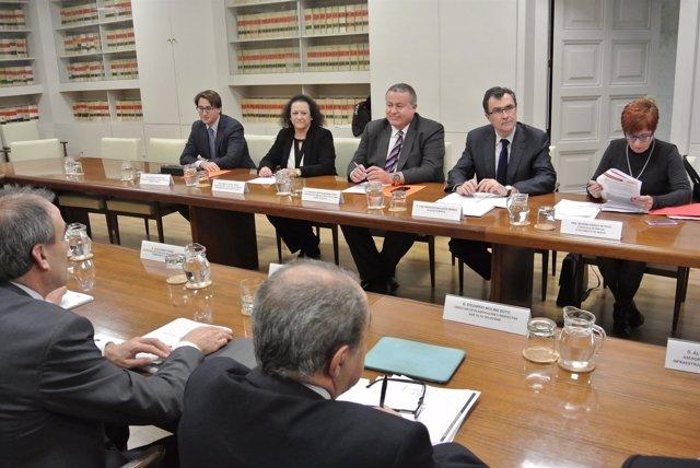 Reunión Consejo Administración Sociedad Murcia Alta Velocidad