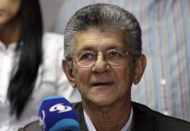 Henry Ramos Allup, propuesto para presidir la Asamblea Nacional de Venezuela