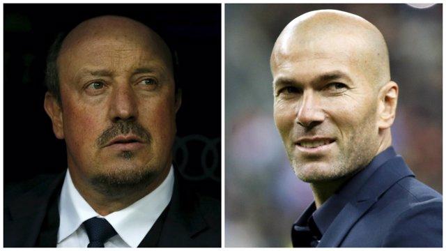 Zidane sustituye a Benítez en el Real Madrid