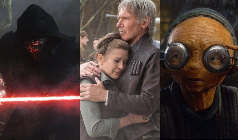 Star Wars: 20 escenas eliminadas en El despertar de la Fuerza