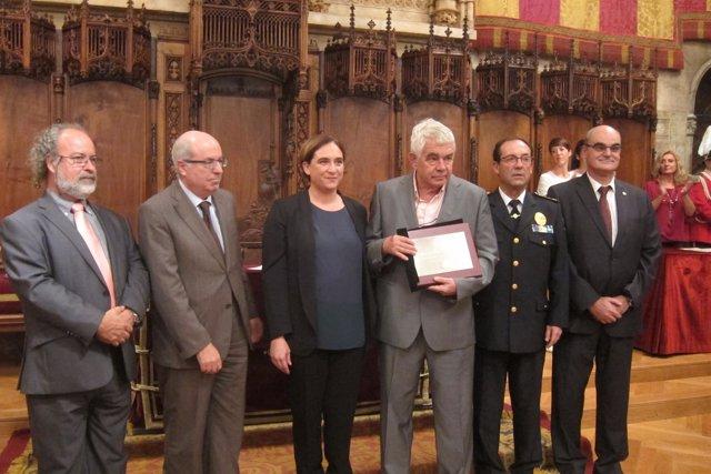 Ricardo Álvarez-Espejo García, Josep Lluís Trapero y  Ada Colau