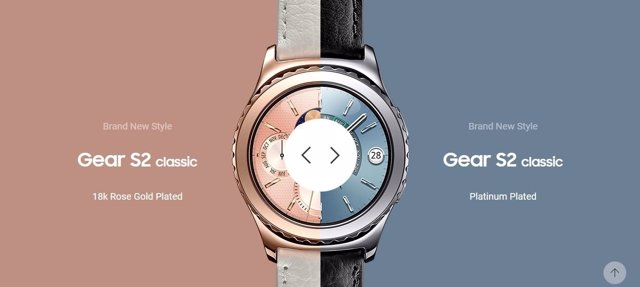 Gear S2 de Samsung será compatible con el iPhone