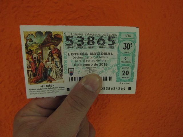 Lotería de El Níño