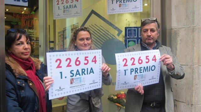 Primer premio de 'El Niño' en Bilbao