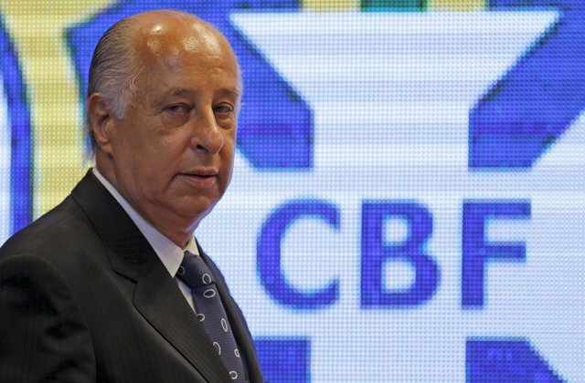 Marco Polo Del Nero, presidente de la Confederación Brasileña de Fútbol