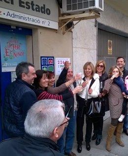 Alicante y castellón se llevan la suerte de 'El Niño'