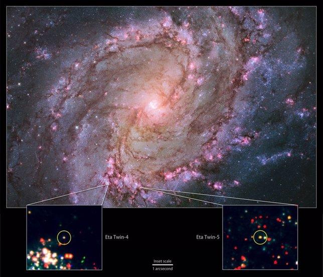 Gemelos de Eta Carinae