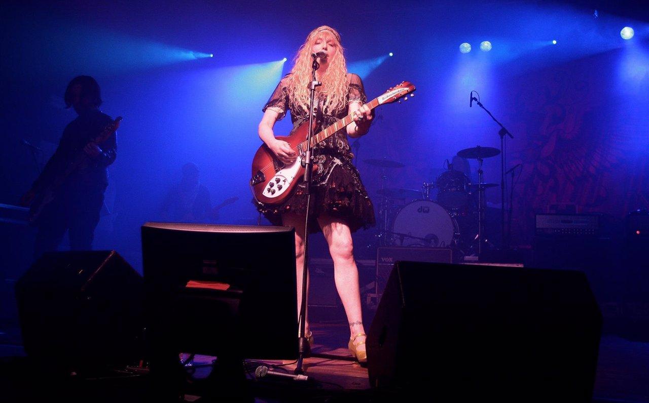 Courtney Love y la banda Hole