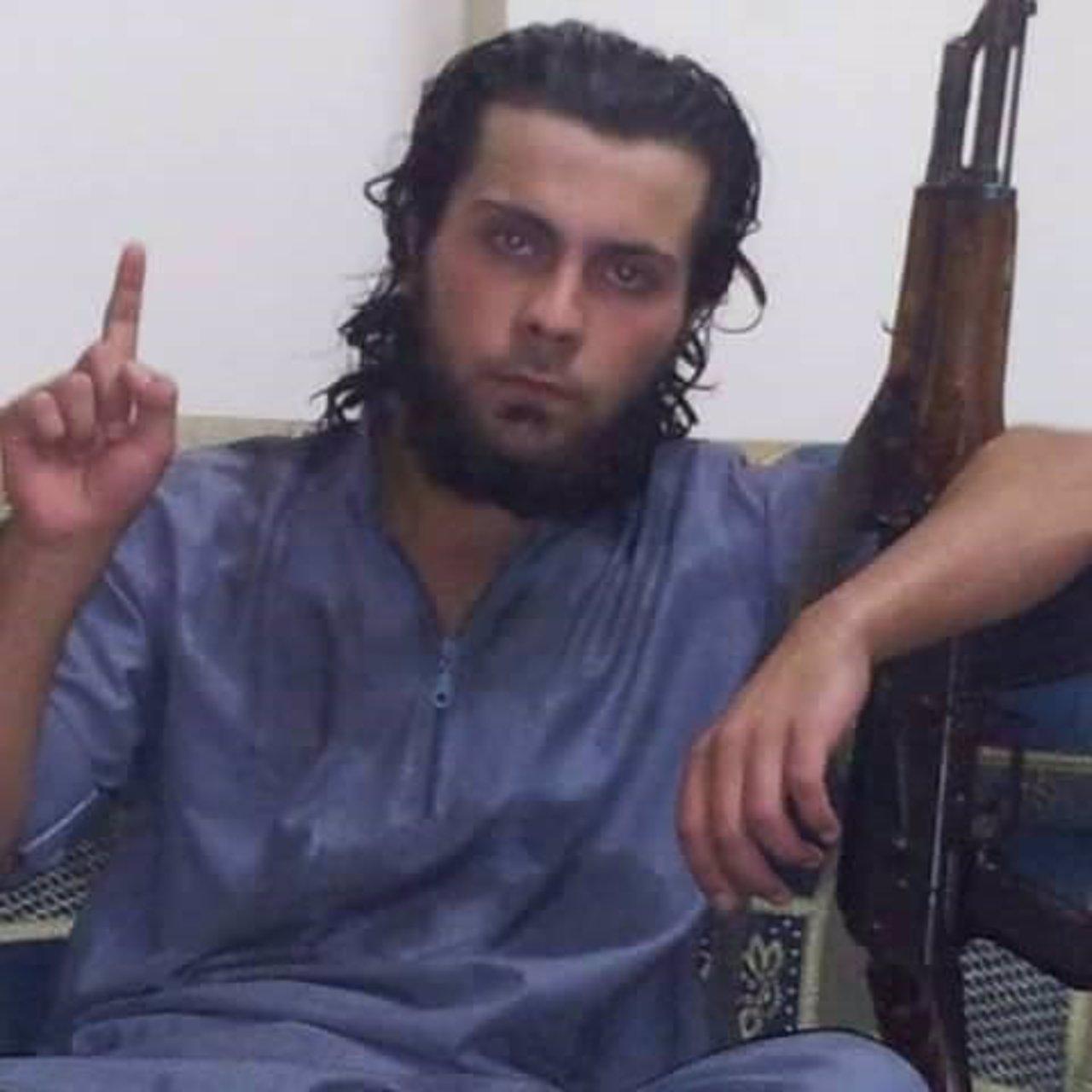 Miliciano de Estado Islámico que ha ejecutado a su madre en Raqqa