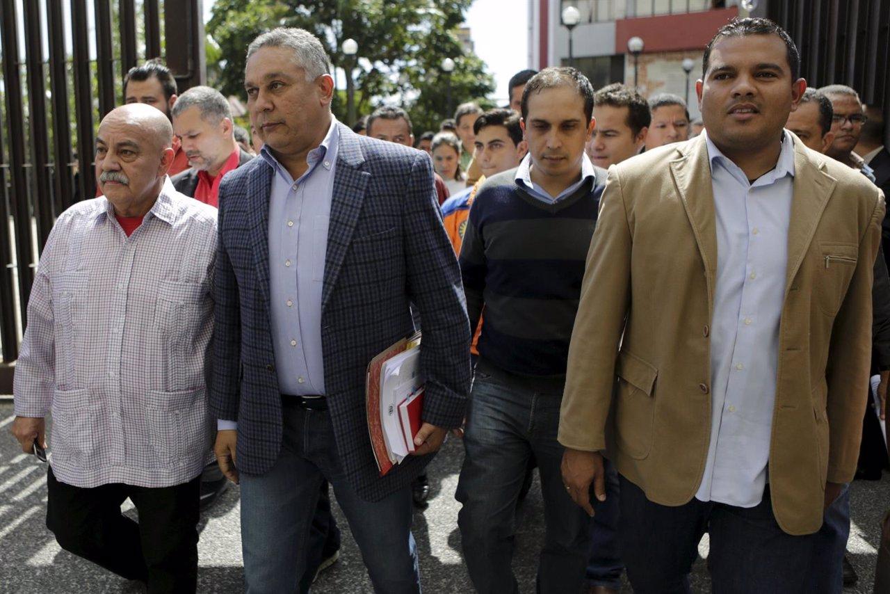 Pedro Carreno, diputado del PSUV , llega al TSJ