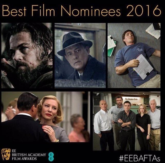 Û'The Revenant', del mexicano Alejandro González Iñárritu, encabeza los BAFTA