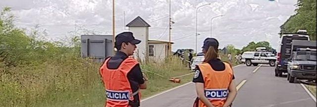 Dispositivos policiales en Argentina por la búsqueda de tres prófugos