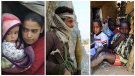 Las principales preocupaciones humanitarias de las ONG para 2016