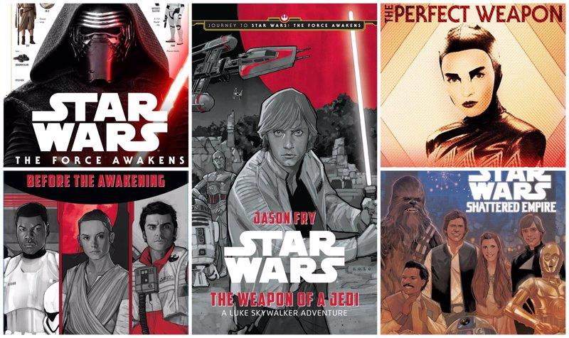 Star Wars: 6 libros que debes leer para saber más de El despertar de la Fuerza