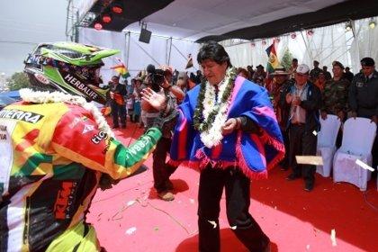 Morales espera que el Dakar incluya otro departamento de Bolivia en 2017
