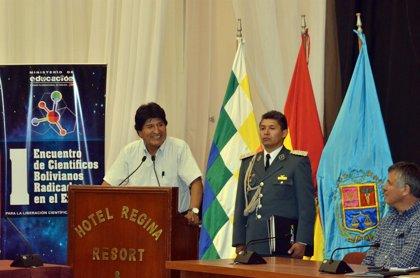 Morales inaugura I Congreso Científico y pide a participantes planificar la liberación tecnológica