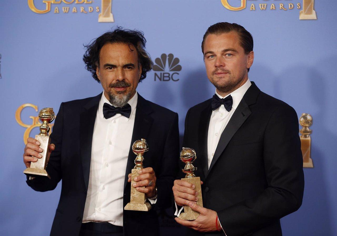 Alejandro Gonzalez Inarritu y Leonardo DiCaprio