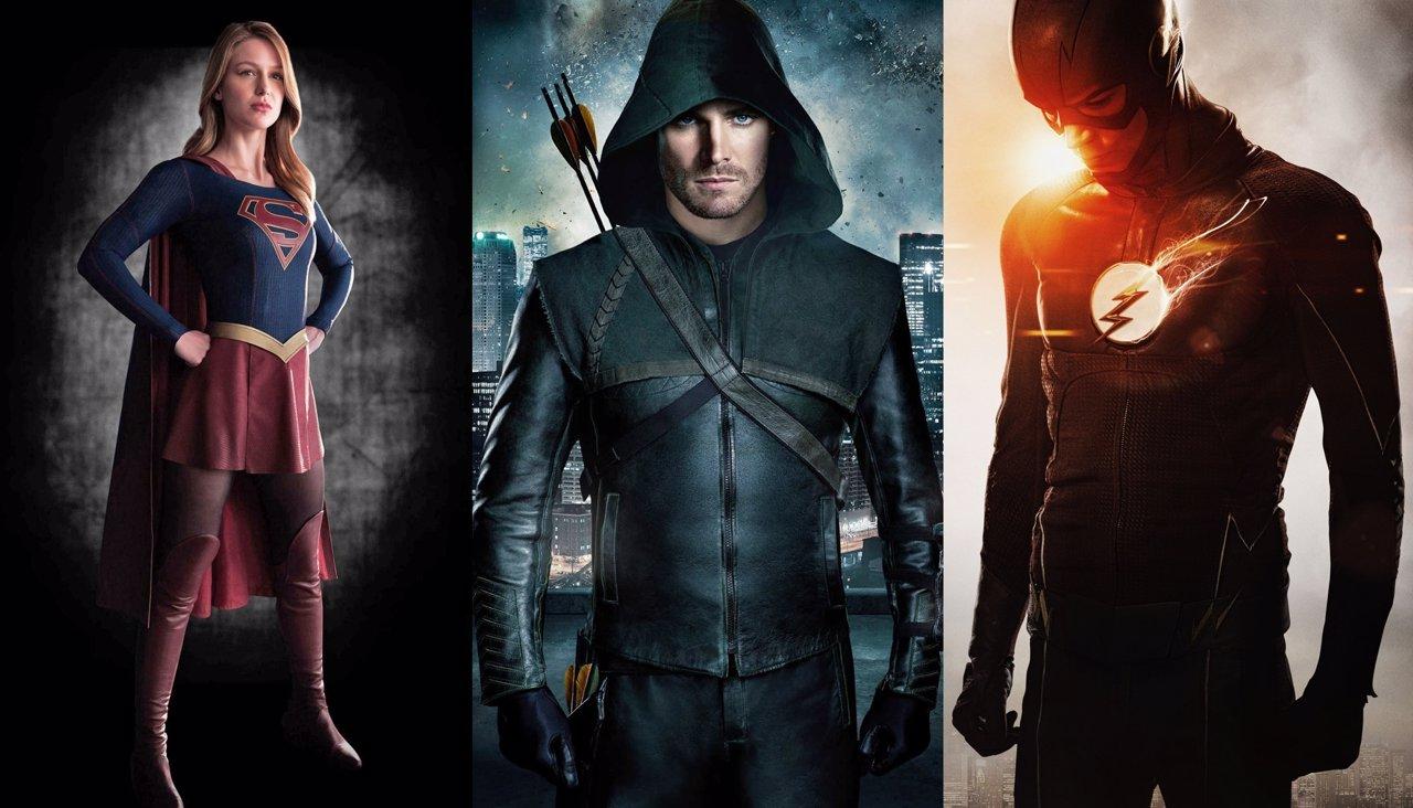 Supergirl, Arrow y The Flash