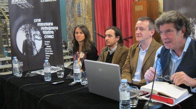 Presentación del III Festival Aragon Negro