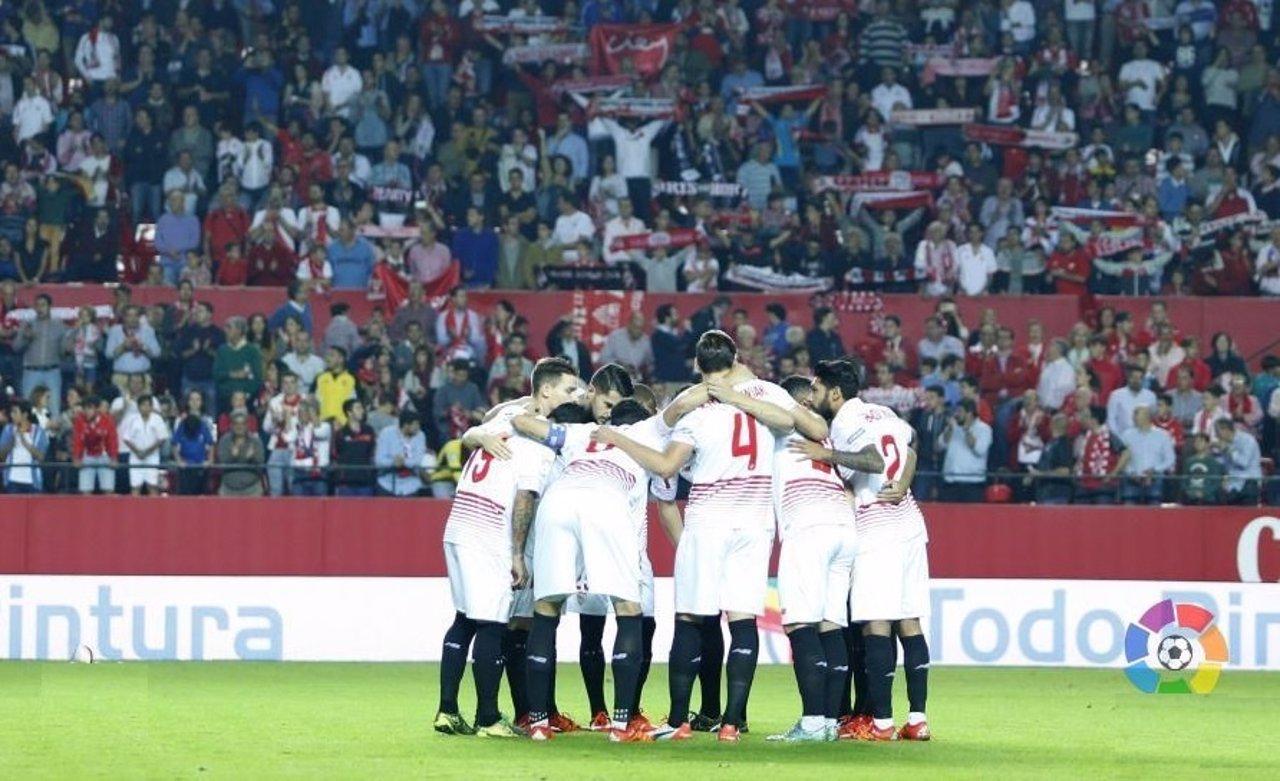 El Sevilla se conjura en el Pizjuán