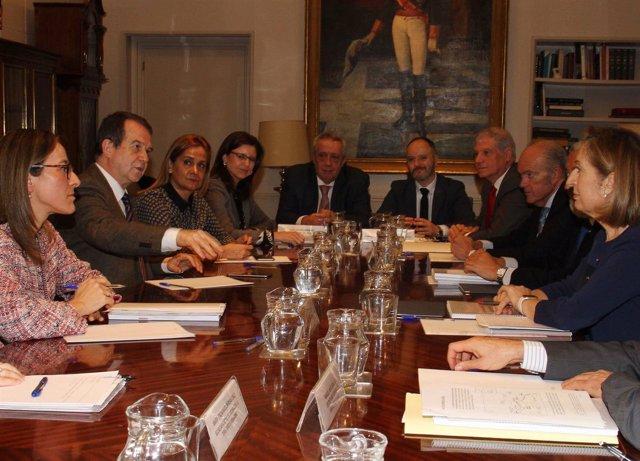 Reunión Fomento, Xunta y Ministerio de Fomento