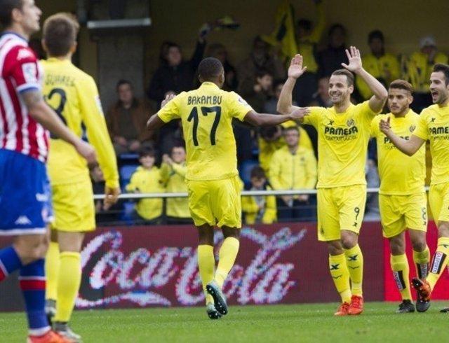 Bakambu Villarreal Roberto Soldado Sporting