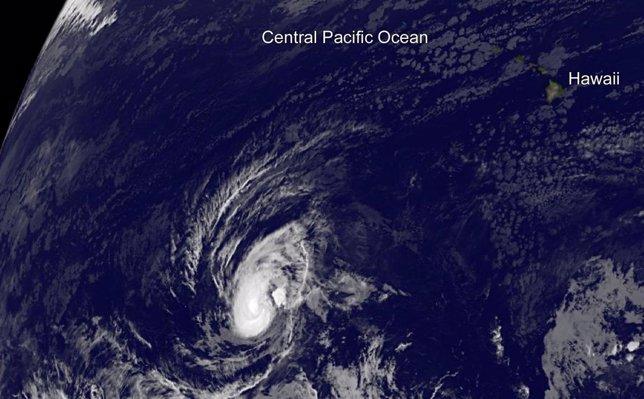 Pali, cuando aún era tormenta tropical el 10 de enero