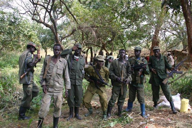 Ejército de Resistencia del Señor (LRA) en el Congo