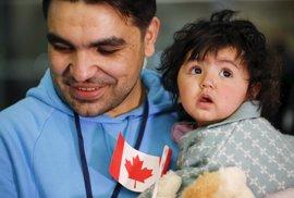 Canadá acoge ya a 10.000 refugiados sirios