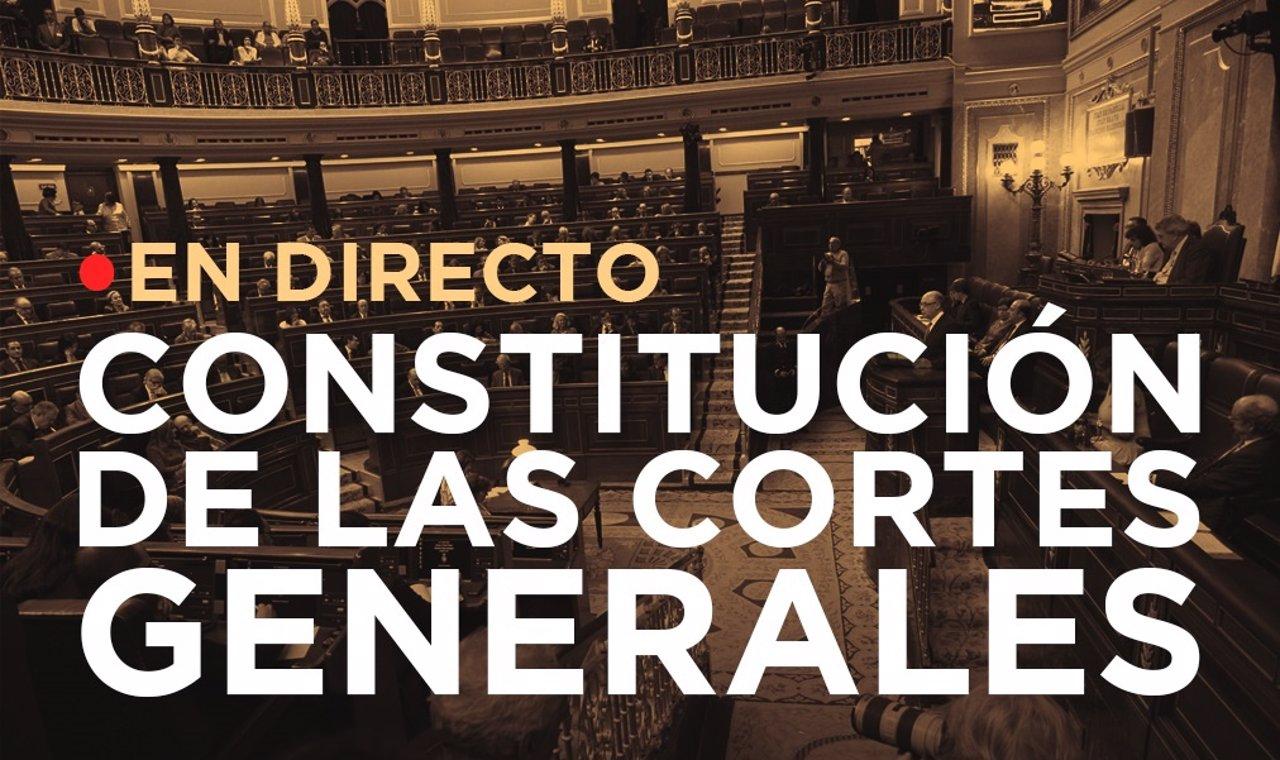 Constitución de las cortes generales   Directo