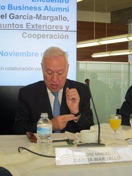 José Manuel García-Margallo, ministro de Asuntos Exteriores