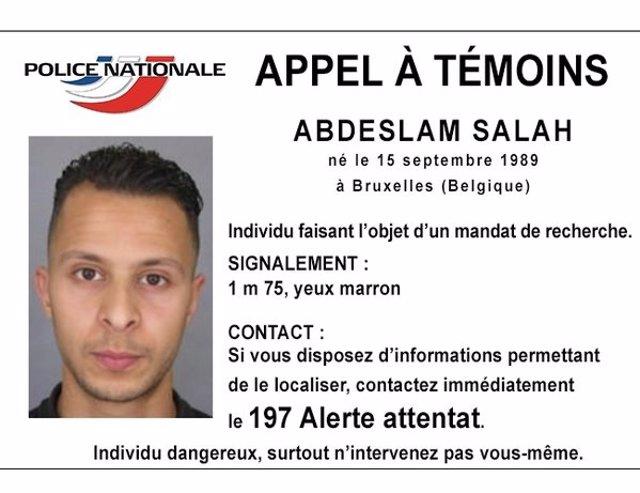 Abdeslam Salá, sospechoso de los ataques en París