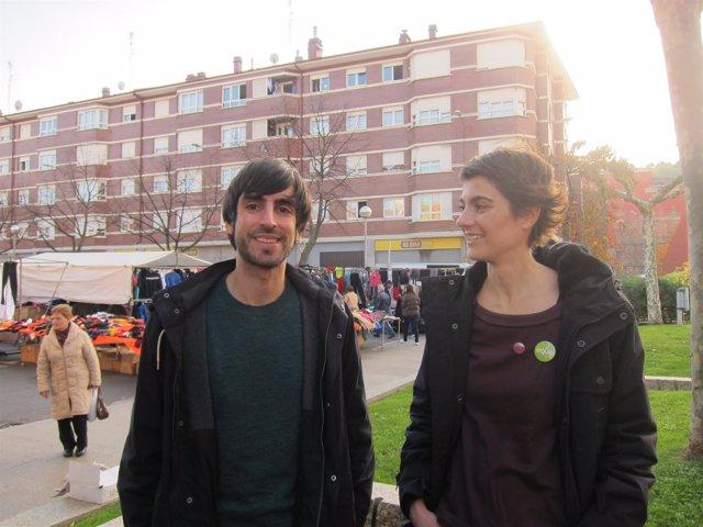 Eduardo Maura y Rosa Martínez