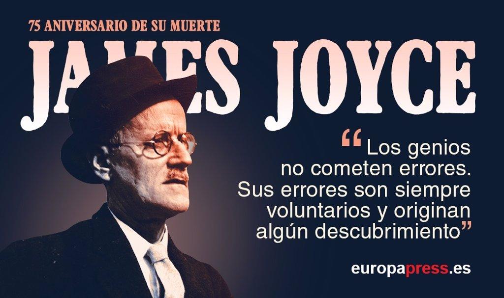 75 Años De La Muerte De James Joyce Sus 10 Frases