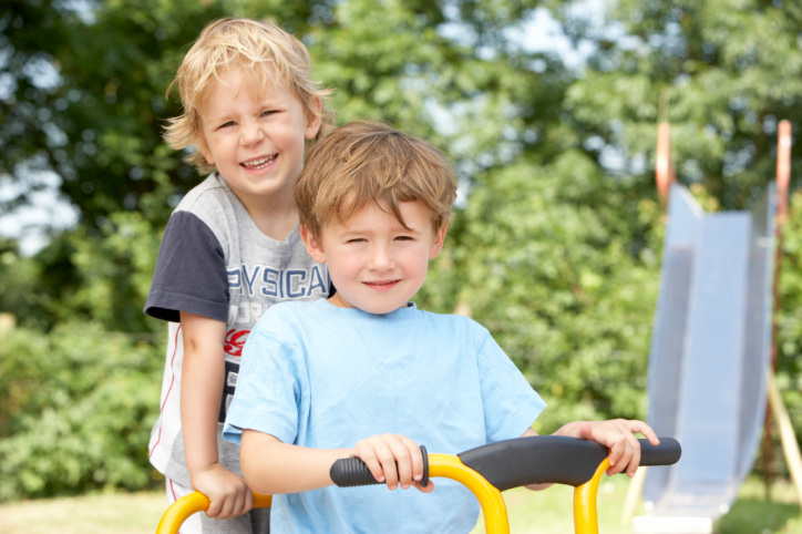 Ejercicio para niños menores de 5 años