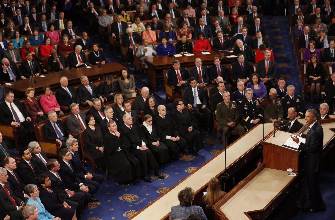 Obama en el discurso del Estado de la Unión