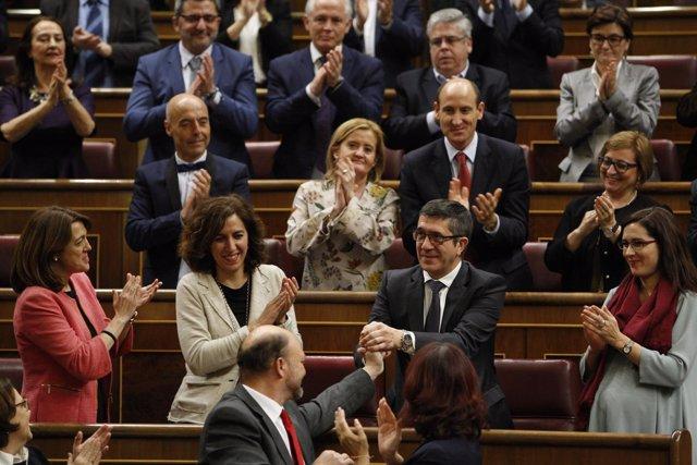Patxi López,  nuevo presidente del Congreso