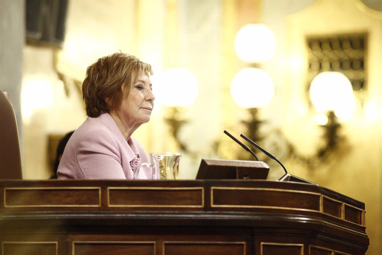 Celia Villalobos en el Debate sobre el estado de la Nación