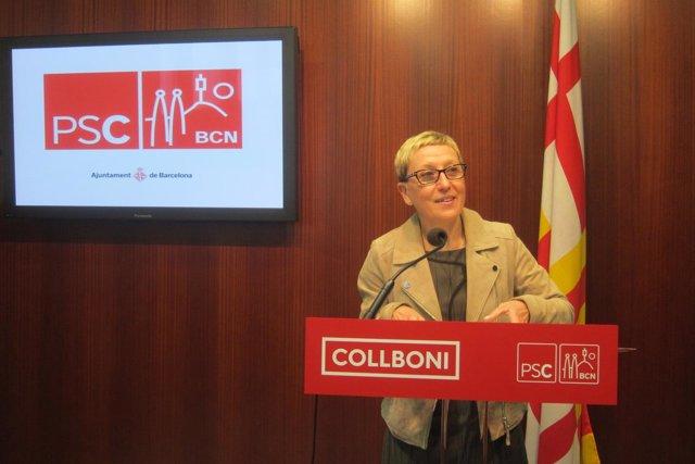 La portavoz del PSC en el Ayuntamiento de Barcelona, Carmen Andrés