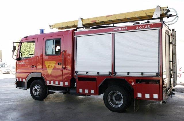 Camión Bomberos De La Generalitat