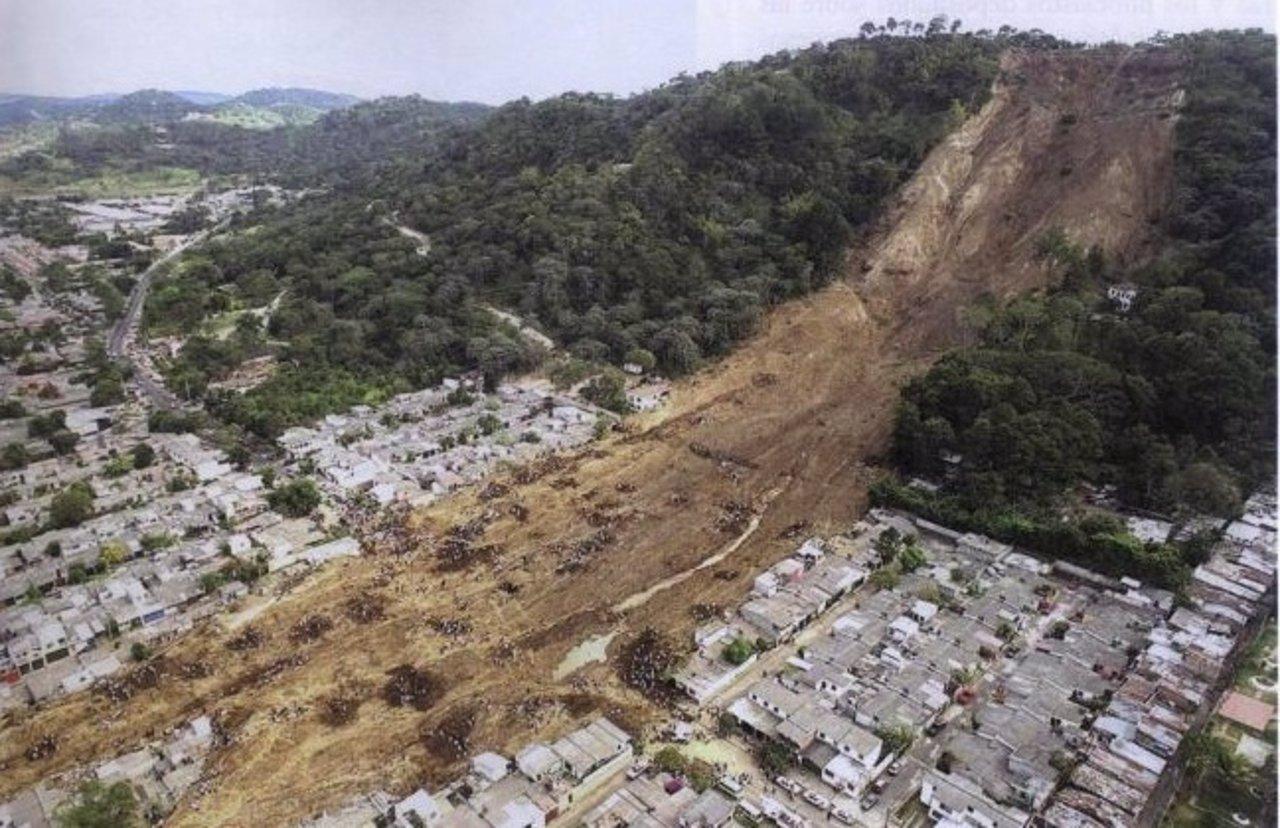 El terremoto más grande de El Salvador.