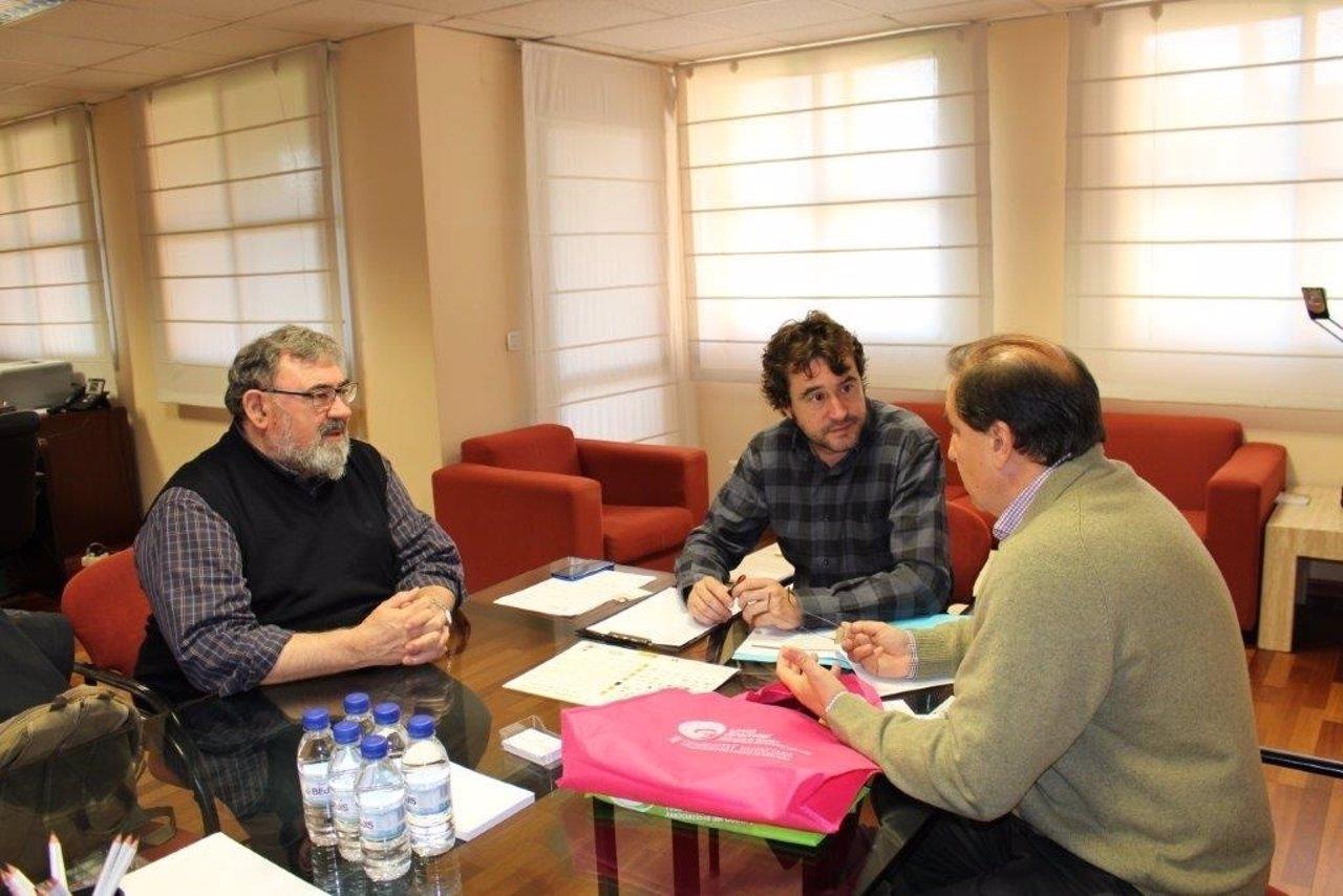 Rubén Trenzano se reúne con representantes de Unió Gremial